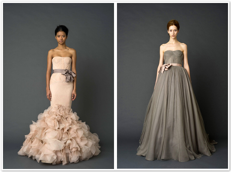 Vera Wang 2012 Spring Collection Vera Wang Spring Collection 2012 1 